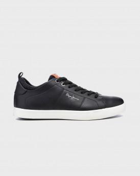 Pepe Jeans Sneakers Marton Basic - PMS30501 - ΜΑΥΡΟ