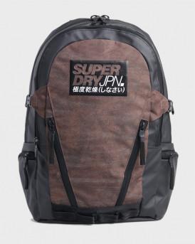 Superdry Τσάντα Tarp Backpack - M9110165Α - ΚΑΦΕ