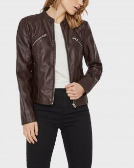 Vero Moda Δερμάτινο PU Jacket - 10230873 - ΚΑΦΕ
