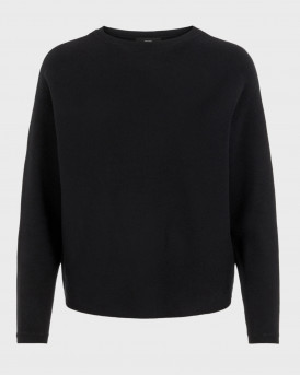 Vero Moda Πλεκτό Knitted Pullover - 10235991 - MΑΥΡΟ