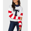 TOMMY HILFIGER ΠΛΕΚΤΟ COLORBECK HIGH NECK SWEATER - DW0DW08869 - ΓΚΡΙ
