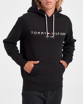 Tommy Hilfiger Φούτερ Logo Hoodie - MW0ΜW10752 - ΜΑΥΡΟ