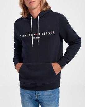 Tommy Hilfiger Φούτερ Logo Hoodie - MW0ΜW10752 - ΜΠΛΕ