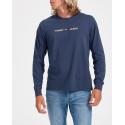 Tommy Hilfiger Μπλούζα Long Sleeve Flag T-Shirt - DΜ0DM09368 - ΜΠΛΕ