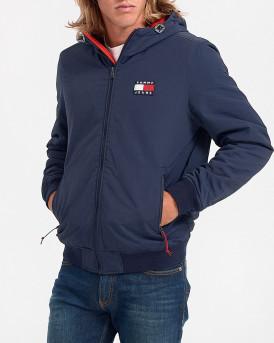 Tommy Hilfiger Μπουφάν Padded Jacket - DM0DM08460 - ΜΠΛΕ