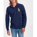 Polo Ralph Lauren Polo Logo Long Sleeve - 710766856001 - ΜΠΛΕ