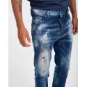 Dsquared2 Jeans Paint-Splatter - S74LB0798S30342 - ΜΠΛΕ