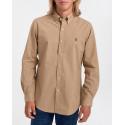 Polo Ralph Lauren Πουκάμισο Cotton Stretch Shirt - 710803296003 - ΜΠΕΖ