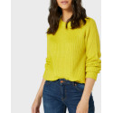 VERO MODA ΠΛΕΚΤΟ O-NECK KNITTED PULLOVER - 10221903 - ΡΟΖ
