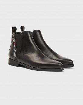Tommy Hilfiger Μποτάκια Essential Spitzer Boots - EN0EN01068 - ΜΑΥΡΟ