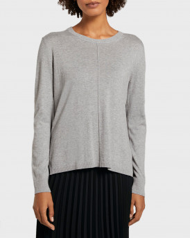 Tom Tailor Πλεκτό Knitted Pullover - 1021581.XX.77 - ΓΚΡΙ