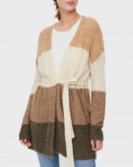 Vero Moda Ζακέτα Wrap Knitted Cardigan - 10231552 - ΜΠΕΖ
