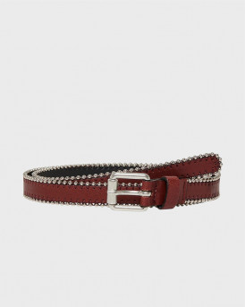 LEATHER LOOK BELT ΤΗΣ ONLY - 15181141 - ΜΠΟΡΝΤΩ