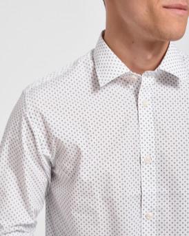 Selected Πουκάμισο Easy Iron Shirt - 16075647 - ΑΣΠΡΟ