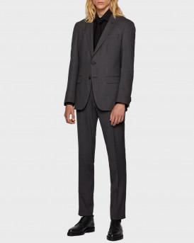 Boss Κοστούμι Suit in Patterned Stretch Fabric - 50438221 ΗΕRREL/GRAC - ΑΝΘΡΑΚΙ
