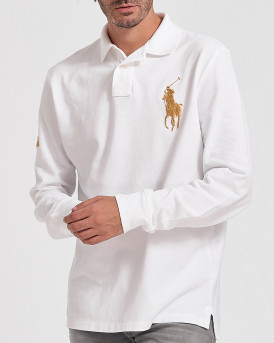 Polo Ralph Lauren Polo Long Sleeve - 710766856003 - ΑΣΠΡΟ