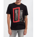 Boss T-Shirt With Photographic Print - 50437334 DATAM - ΜΑΥΡΟ