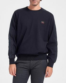 Paul & Shark Πλεκτό Knitted Pullover - I20P1404 - ΜΠΛΕ