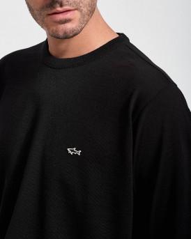 Paul & Shark Πλεκτό Knitted Pullover - C0P1094 - ΜΑΥΡΟ
