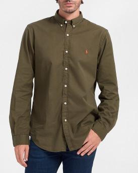 Polo Ralph Lauren Πουκάμισο Cotton Stretch Shirt - 710815558006 - ΛΑΔΙ