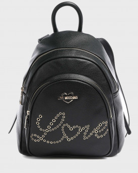 Embroidery Of Love Backpack  - JC4049PP1BLF0 - ΜΑΥΡΟ