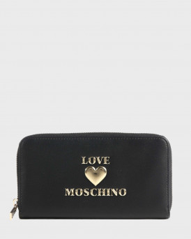 Love Moschino Πορτοφολι Padded Shiny Heart Wallet - JC5606PP1BLΕ0 - ΜΑΥΡΟ