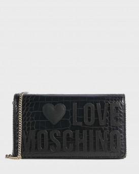 Love Moshino Τσάντα Crossbody - JC4063PP1BLH1 - ΜΑΥΡΟ