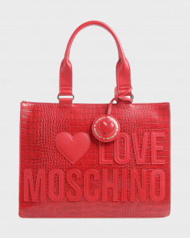 Love Moshino Τσάντα Lovers Of Shopping Handbag - JC4056PP1BLH1 - ΚΟΚΚΙΝΟ