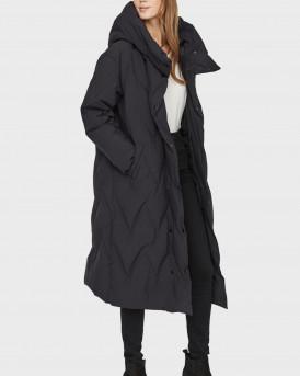 Vero Moda Μπουφάν Long Down Jacket - 10233565 - ΜΑΥΡΟ