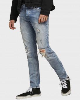 Jack & Jones Jeans Slim Fit Glenn Original JOS 048 - 12177447 - ΜΠΛΕ