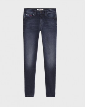 Tommy Hilfiger Skinny Fit Jeans - DW0DW09049 - ΜΠΛΕ