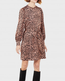 Scotch & Soda Φόρεμα Short Printed Dress With Zip-up Collar - 159004 - ΚΑΦΕ