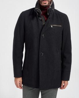 Milestone Παλτό Wool Coat - 300708 10120 ADAM - ΑΝΘΡΑΚΙ