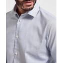 Selected Πουκάμισο Patterned Stretch Shirt - 16075693 - ΑΣΠΡΟ