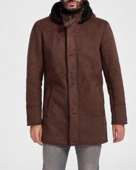 Oakwood Παλτό Hoodie Jacket - DYLAN 63285 - ΚΑΦΕ