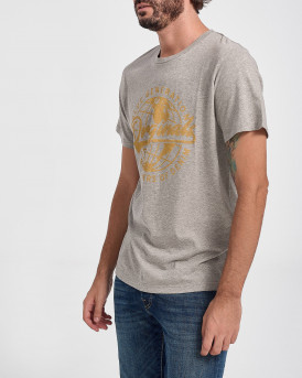 Jack & Jones T-Shirt Bollard Crew Neck - 12178424 - ΓΚΡΙ