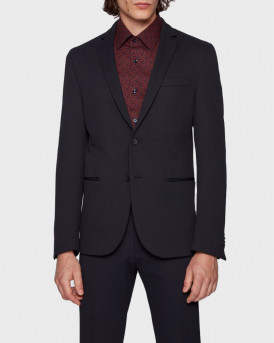 BOSS ΣΑΚΑΚΙ SLIM-FIT JACKET - 50438247 NORWIN4 - ΜΠΛΕ