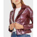 Only Δερμάτινο PU Leather Look Biker Jacet - 15186148 - ΜΑΥΡΟ