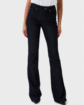LIU-JO ΠΑΝΤΕΛΟΝΙ ΤΖΗΝ High-rise bell-bottom jeans - UF0020 D3360 - ΜΠΛΕ