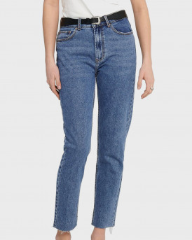 ONLY ΠΑΝΤΕΛΟΝΙ ΤΖΗΝ EMILY HW STRAIGHT FIT JEANS - 15171549 - ΜΠΛΕ
