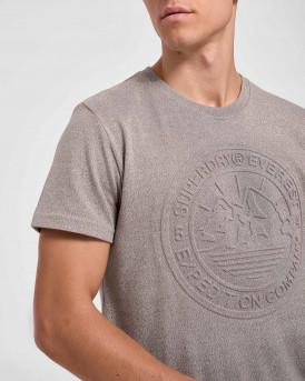 Superdry Everest T-Shirt - M1010378A - ΓΚΡΙ
