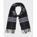 Superdry Κασκόλ Men's NYC Cold Weather Scarf - M9310017A - ΜΑΥΡΟ