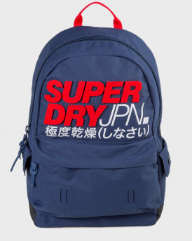 Superdry Τσάντα Montauk Montana Backpack - M9110117Α - ΜΠΛΕ