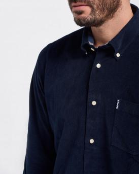 Barbour Πουκάμισο Corduroy Shirt - 3BRMSH4761 - ΜΠΛΕ