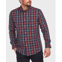 Barbour Πουκάμισο Country Check 1 Tailored Shirt - 3BRMSH4557 - ΜΠΛΕ