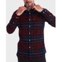 Barbour Πουκάμισο Lustleigh Shirt - 3BRMSH3749 - ΜΠΟΡΝΤΩ