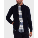 Barbour Ζακέτα Patch Zip Thru Sweater - 3BRMΚΝ0731 - ΛΑΔΙ