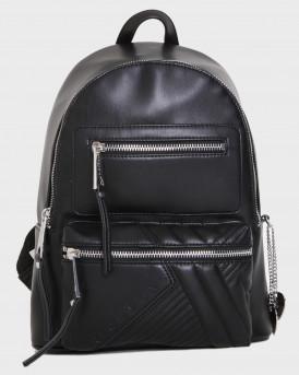 John Richmond Tσάντα Backpack Small Briasco - RWΑ20420ZA - ΜΑΥΡΟ