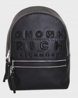 John Richmond Tσάντα Backpack Ocuzo - RWΑ20405ZA - ΜΑΥΡΟ