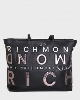 John Richmond Τσάντα Shopper Bag Geberga - RWΑ20401BO - ΑΣΗΜΙ